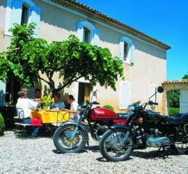 A tough day out with Classic Bike Esprit in Provence