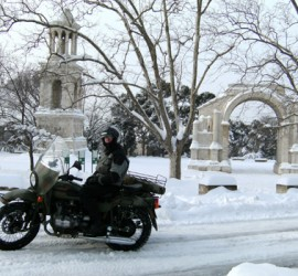 When it snows , choose a Ural