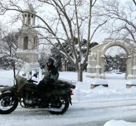 When it snows , choose a Ural