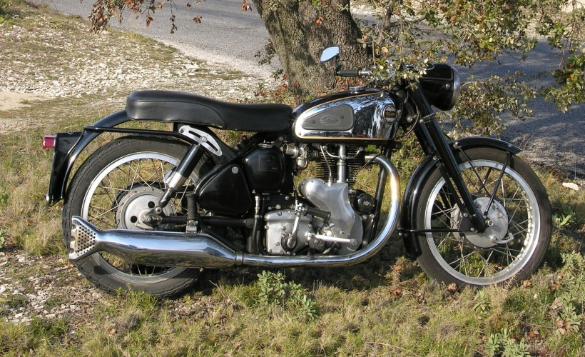 velocette venom 1960 classic bike esprit. Black Bedroom Furniture Sets. Home Design Ideas