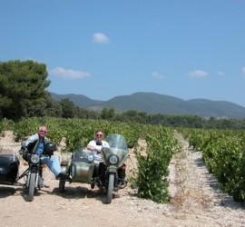 ral sidecar rental, Classic Bike Esprit, St Rémy de Provence, France